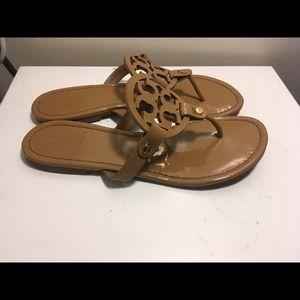 Tory birch miller sandals sz 8